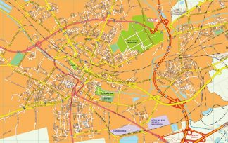 Gliwice EPS map