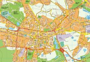 Katowice EPS map