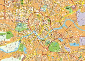 Krakow EPS map