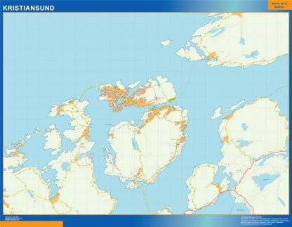 Kristiansund kart