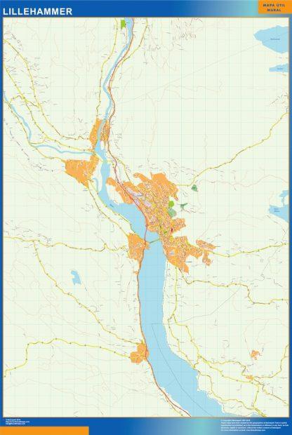 Lillehammer kart
