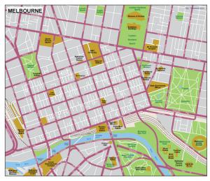 Melbourne EPS map