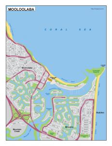 Mooloolaba EPS map