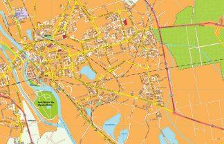 Opole EPS map