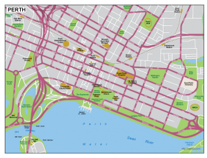Perth EPS map