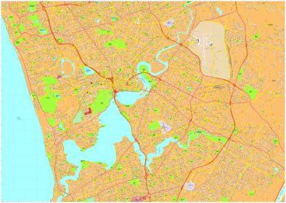 Perth Vector Maps