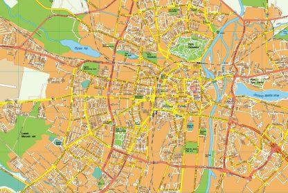 Poznan EPS map
