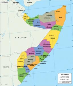 Somalia EPS map