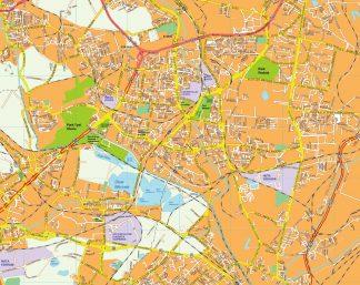 Sosnowiec EPS map