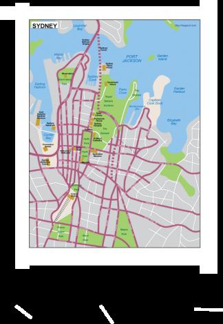 Sydney EPS map