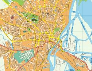 Szczecin EPS map