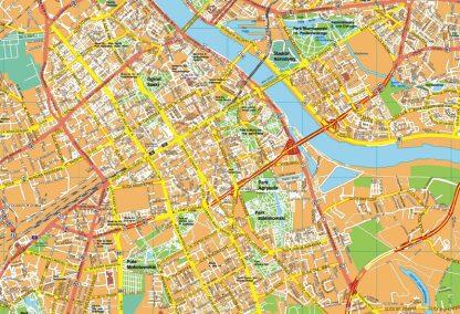 Warszawa EPS map