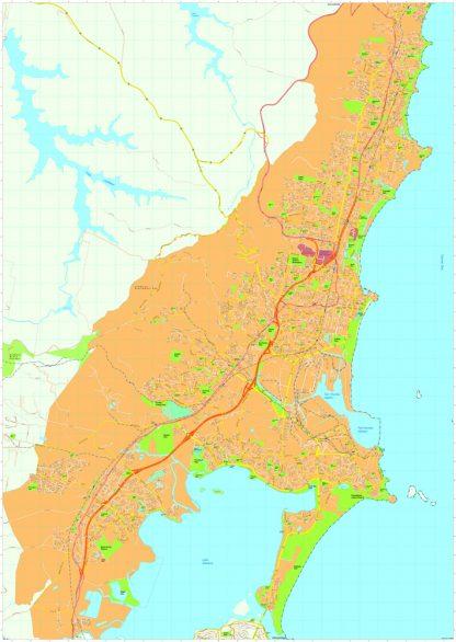 Wollongong Vector Maps