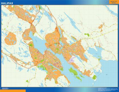 halifax vector map
