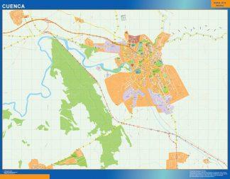 mapa vectorial cuenca