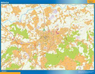 Braga mapa