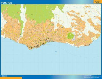 Funchal mapa