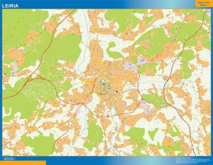 Leiria mapa