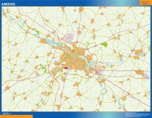 amiens wall map