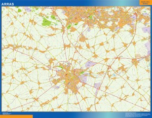 arras wall map