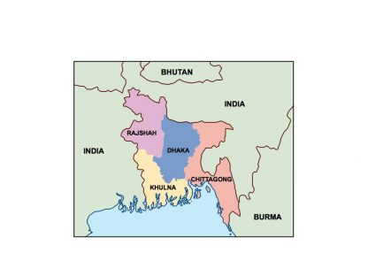 bangladesh presentation map