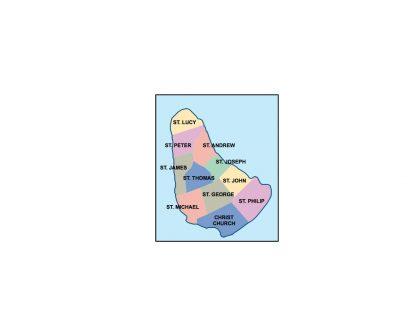 barbados presentation map