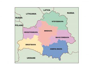 belarus presentation map