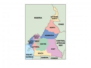 cameroon presentation map