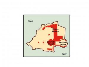 city of vatican presentation map