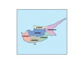cyprus presentation map