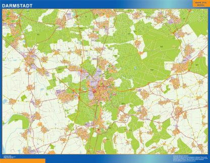 darmstadt wall map