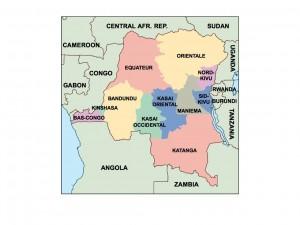 democratic republic of congo presentation map