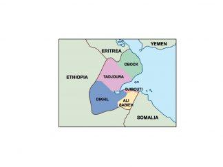 djibouti presentation map
