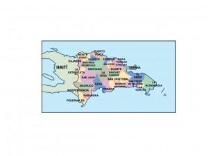 dominican republic presentation map