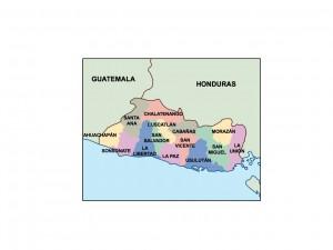 el salvador presentation map