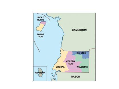 equatorial guinea presentation map