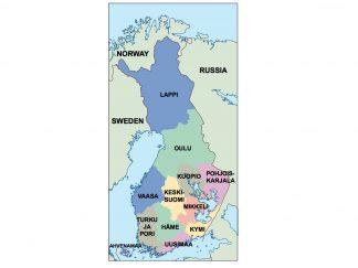 finland presentation map