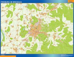 freibug im breisgau wall map