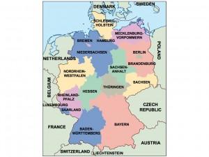germany presentation map