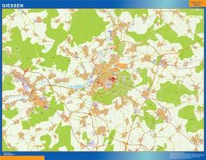 giessen wall map