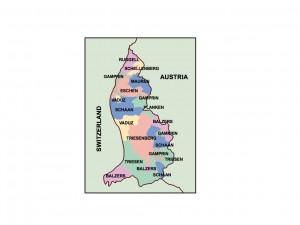 liechtenstein presentation map