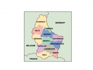 luxembourg presentation map