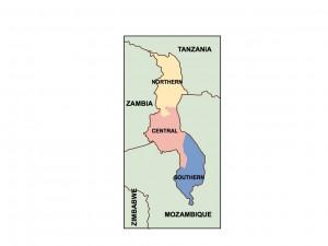 malawi presentation map
