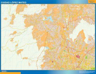 mapa Ciudad Lopez Mateo