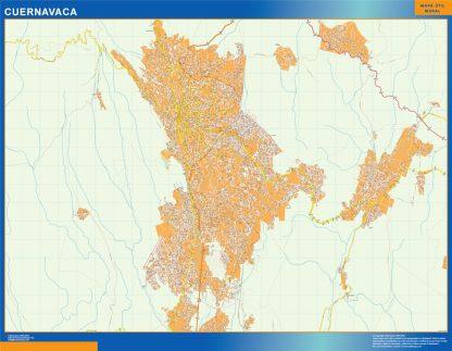 mapa Cuernavaca