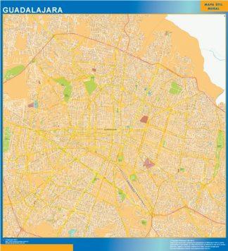 mapa Guadalajara centro