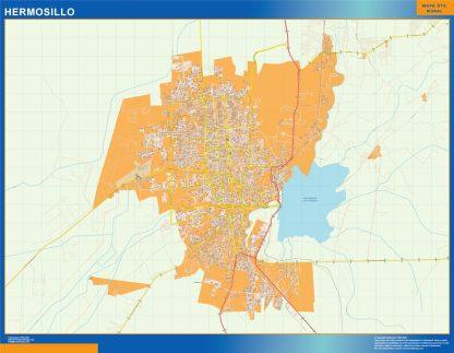 mapa Hermosillo