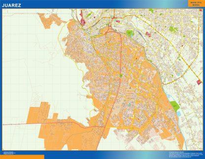 mapa Juarez