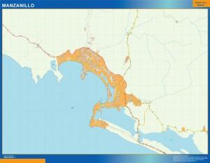 mapa Manzanillo