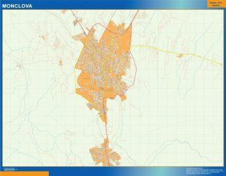 mapa Monclova